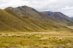 Lindis Pass - Central Otago Stock Photography
