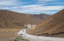 Lindis Pass Royalty Free Stock Images