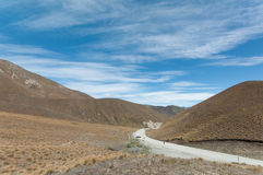 Lindis Pass Royalty Free Stock Photos