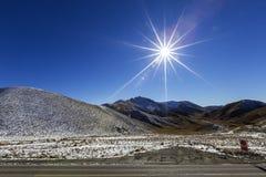 Lindis Pass Stock Image