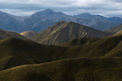 Lindis pass Royalty Free Stock Photography