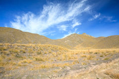 Lindis Pass New Zealand Stock Images