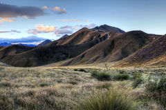 Lindis Pass, New Zealand Royalty Free Stock Image