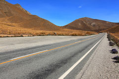 Lindis Pass New Zealsnd Royalty Free Stock Images