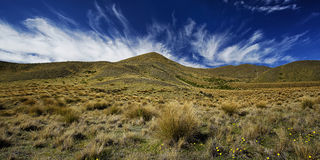 Lindis Pass Stock Photography