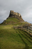 lindisfarne замока Стоковое Изображение RF