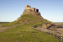lindisfarne замока Стоковое фото RF