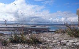 Lindisfarne水方式 免版税库存照片