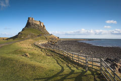 Lindisfarne. The Holy Island of Lindisfarne Stock Image