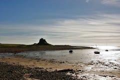 Lindisfarne Photographie stock libre de droits