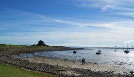 Lindisfarne Photo libre de droits