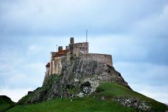Lindisfarne Castle Stock Photo