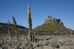 Lindisfarne Castle Stock Photography