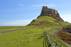 Lindisfarne Castle Στοκ Φωτογραφία