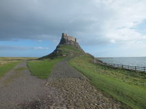 Lindisfarne Castle1 Photo stock
