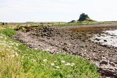 Lindisfarne Castle Stock Images