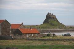 Lindisfarne Castle Royalty Free Stock Image
