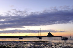 Lindisfarne castle (holy island) Royalty Free Stock Images