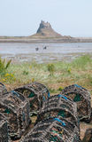 Lindisfarne Castle Royalty Free Stock Photos