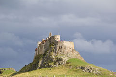 Lindisfarne Castle, Holy Island Royalty Free Stock Photography
