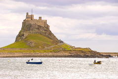 Lindisfarne Castle I Royalty Free Stock Image