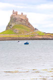 Lindisfarne Castle II Royalty Free Stock Images