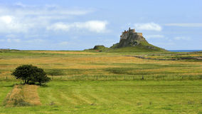 Lindisfarne Castle / Lindisfarne Castle / Holy Island Royalty Free Stock Images