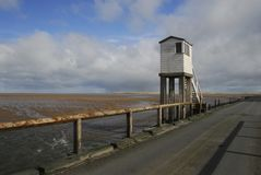 Lindisfarne Causeway Stock Photography