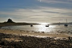 Lindisfarne. Royalty Free Stock Photo