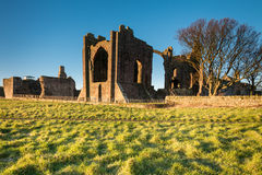 Lindisfarne Priory on Holy Island Stock Photo