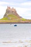 Lindisfarne Schloss II lizenzfreie stockbilder