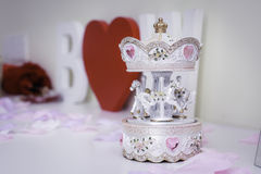 ¼ lindo ŒLovely de Carouselï Imagenes de archivo