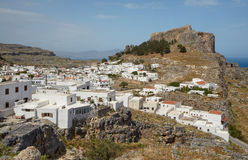 Lindos Stock Photo