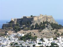 Lindos Royalty Free Stock Photos