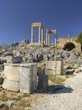 Lindos acropolis Royalty Free Stock Image