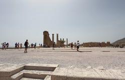 Lindos Actopolis. Rhodes island, Greece Royalty Free Stock Image
