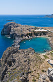 Lindos beach Stock Photography