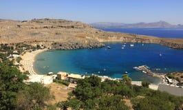 Lindos, Grèce Photo libre de droits