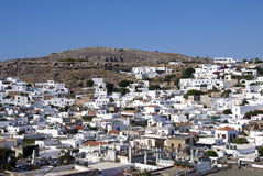 Lindos  - Greece Stock Photo