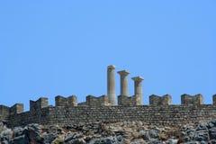 Lindos, Greece Royalty Free Stock Photos