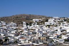 Lindos - Greek Royalty Free Stock Image
