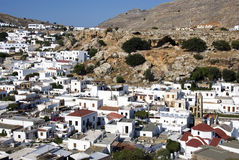 Lindos - Greek Royalty Free Stock Photography