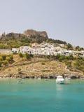 Lindos, Griechenland Stockbild