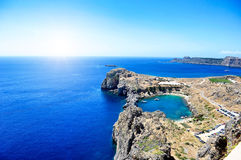 Lindos Royalty Free Stock Photo