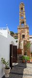 Lindos Panagia Church Rhodes Greece Royalty Free Stock Photo