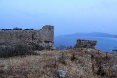 Lindos Rhodes Grèce images stock