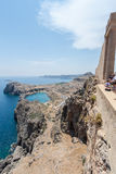 Lindos Rhodes Greece Royalty Free Stock Photography