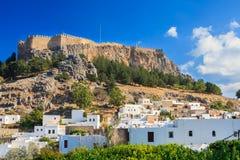 Free Lindos Rhodes Greece Stock Photography - 47017052