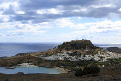 Lindos, Rhodes, Greece Royalty Free Stock Image