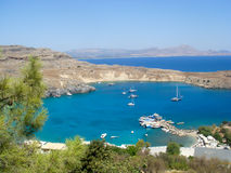 Greece rhodes island  Royalty Free Stock Images